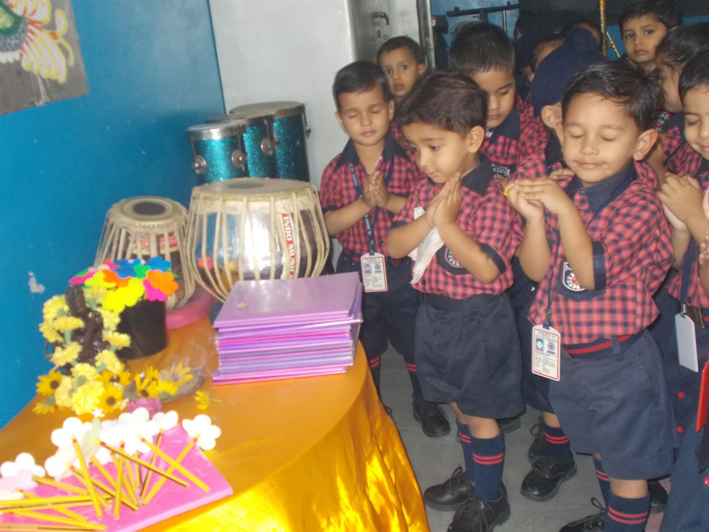 Saraswati Puja | AKSIPS 45 Chandigarh