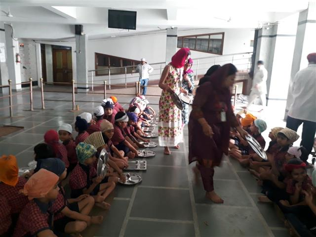 Gurudwara visit | AKSIPS 45 Chandigarh