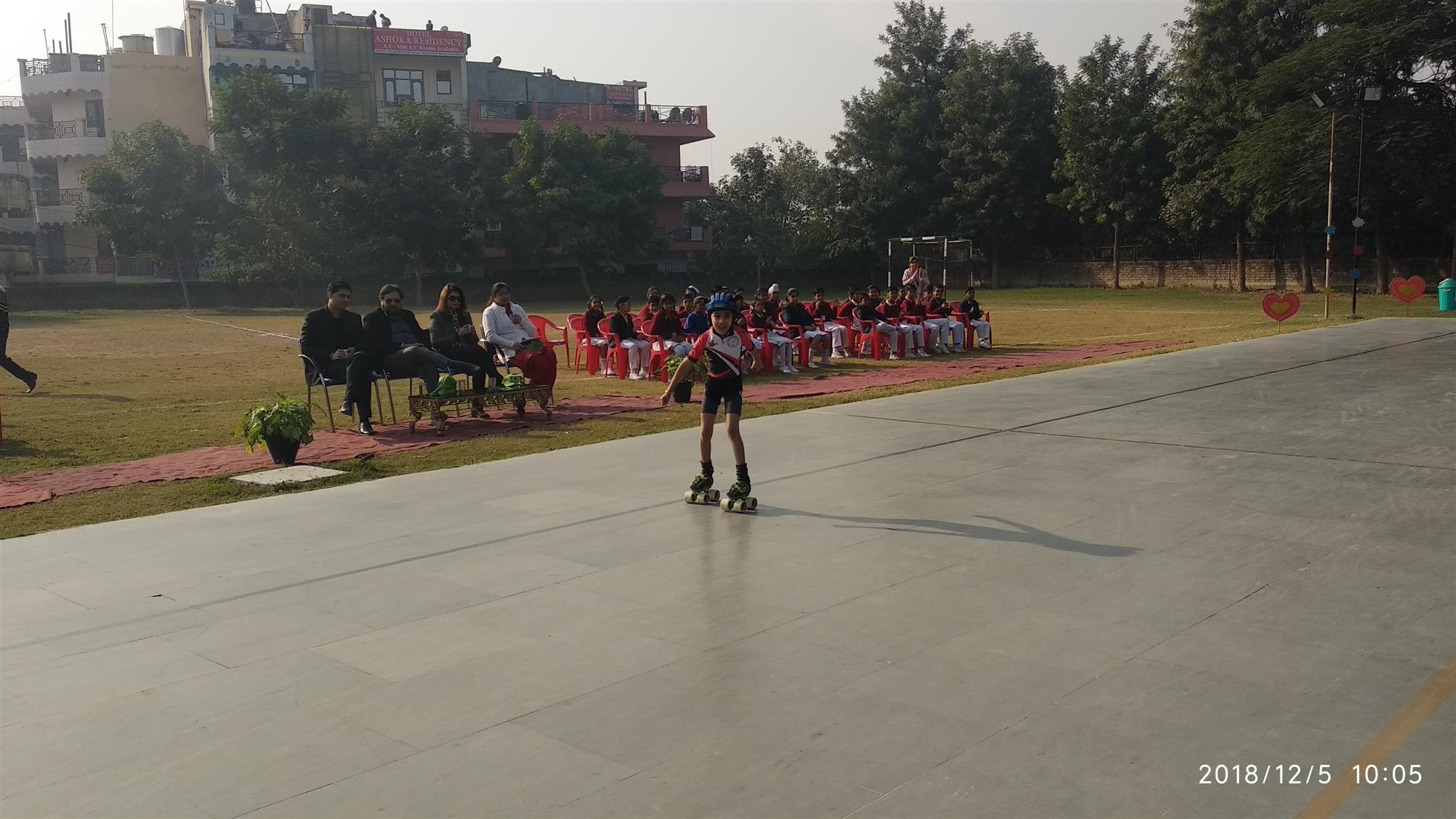 Inter Branch Skating Competition  | AKSIPS 45 Chandigarh