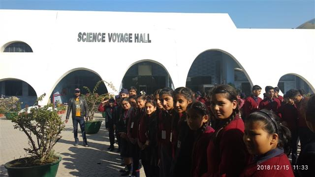 Trip to Science City | AKSIPS 45 Chandigarh